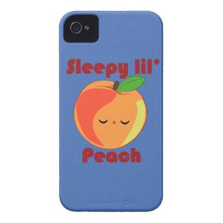 Kawaii Sleepy Lil' Peach iPhone 4/4s case