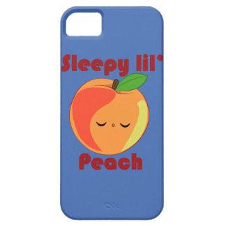 Kawaii Sleepy Lil' Peach iPhone 5 case
