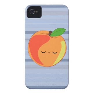 Kawaii Sleepy Lil' Peach iPhone case