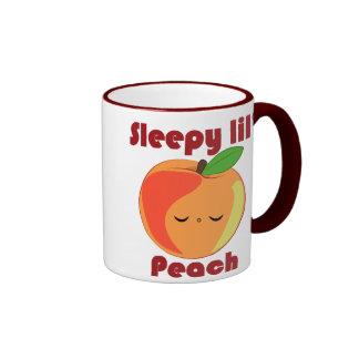 Kawaii Sleepy Lil' Peach mug