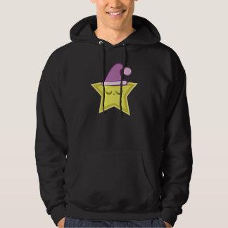 Kawaii Sleepy Star Hoodie