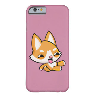 Kawaii Sliding Dog Barely There iPhone 6 Case