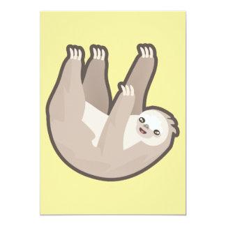 Kawaii Sloth Card