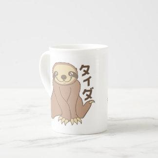 Kawaii Sloth Porcelain Mug