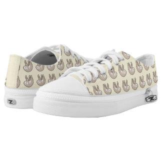 Kawaii Sloth Printed Shoes