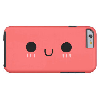 Kawaii Smile,iPhone 6 Case[Color Can Be Changed] Tough iPhone 6 Case