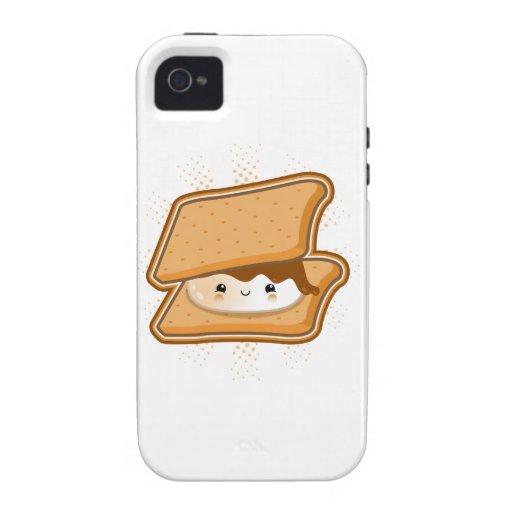 Kawaii Smore iPhone 4 Cases