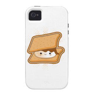 Kawaii Smore iPhone 4/4S Carcasa