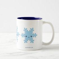 Kawaii Snowflake Mug