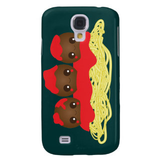 Kawaii Spaghetti Meatballs iPhone Case