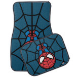 Kawaii Spider-Man Hanging Upside Down Car Floor Mat