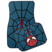 Kawaii Spider-Man Hanging Upside Down Car Floor Mat