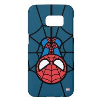 Kawaii Spider-Man Hanging Upside Down Samsung Galaxy S7 Case