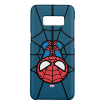 Kawaii Spider-Man Hanging Upside Down Case-Mate Samsung Galaxy S8 Case