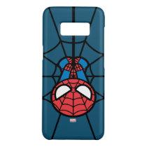 Kawaii Spider-Man Hanging Upside Down Case-Mate Samsung Galaxy S8 Case