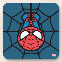 Kawaii Spider-Man Hanging Upside Down Coaster