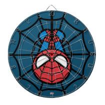 Kawaii Spider-Man Hanging Upside Down Dartboard With Darts
