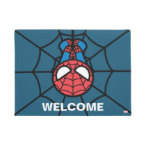 Kawaii Spider-Man Hanging Upside Down Doormat