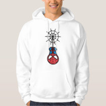 Kawaii Spider-Man Hanging Upside Down Hoodie