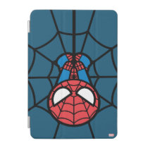 Kawaii Spider-Man Hanging Upside Down iPad Mini Cover