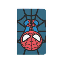 Kawaii Spider-Man Hanging Upside Down Journal
