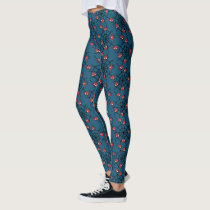Kawaii Spider-Man Hanging Upside Down Leggings