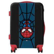 Kawaii Spider-Man Hanging Upside Down Luggage