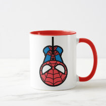 Kawaii Spider-Man Hanging Upside Down Mug