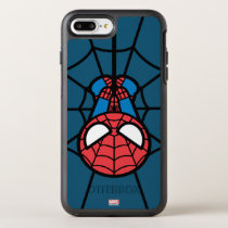 Kawaii Spider-Man Hanging Upside Down OtterBox Symmetry iPhone 8 Plus/7 Plus Case