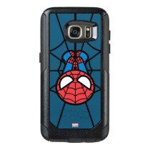 Kawaii Spider-Man Hanging Upside Down OtterBox Samsung Galaxy S7 Case