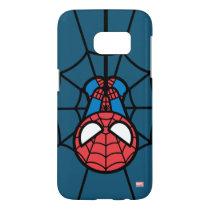 Kawaii Spider-Man Hanging Upside Down Samsung Galaxy S7 Case