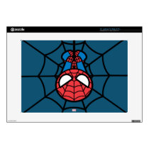 """Kawaii Spider-Man Hanging Upside Down Skins For 15"""" Laptops"""