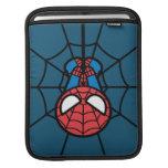 Kawaii Spider-Man Hanging Upside Down Sleeve For iPads