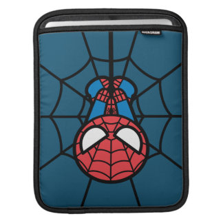 Kawaii Spider-Man Hanging Upside Down Sleeve For iPads