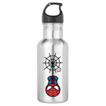 Kawaii Spider-Man Hanging Upside Down Stainless Steel Water Bottle