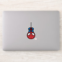 Kawaii Spider-Man Hanging Upside Down Sticker