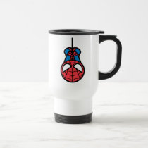 Kawaii Spider-Man Hanging Upside Down Travel Mug