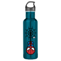 Kawaii Spider-Man Hanging Upside Down Water Bottle