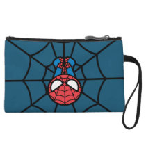 Kawaii Spider-Man Hanging Upside Down Wristlet