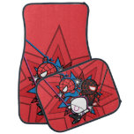 Kawaii Spider-Man, Spider-Gwen, & Miles Morales Car Mat