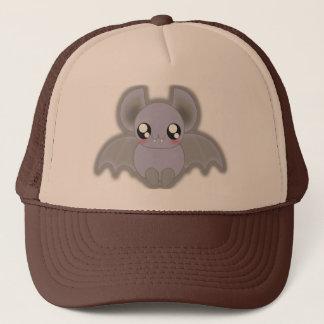 Kawaii spooly bat trucker hat