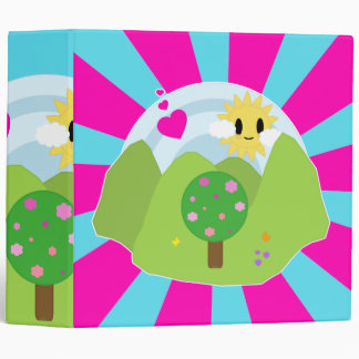 Kawaii Spring Day Binder