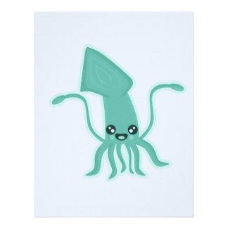 Kawaii Squid Letterhead