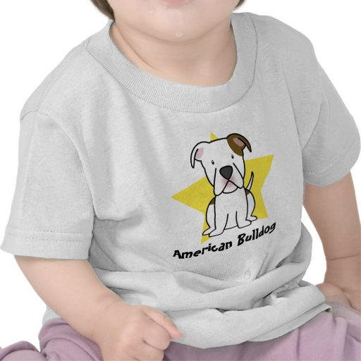 Kawaii Star American Bulldog Baby's T-Shirt