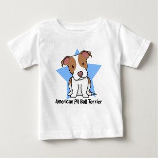 Kawaii Star American Pit Bull Terrier Baby's T Shirt
