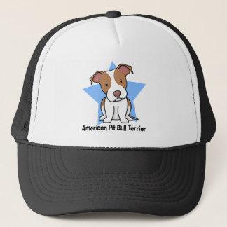 Kawaii Star American Pit Bull Terrier Trucker Hat