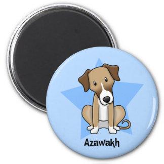 Kawaii Star Azawakh Fridge Magnets