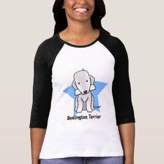 Kawaii Star Bedlington Terrier Tee Shirt