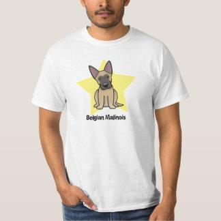 Kawaii Star Belgian Malinois T-Shirt