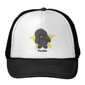 Kawaii Star Black Poodle Hats